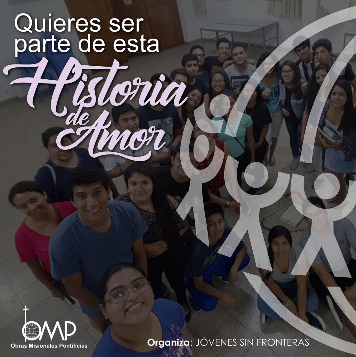Jovenes Sin Fronteras, te invitamos a formar parte de esta historia de amor