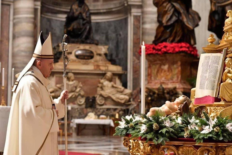 Francisco en vigilia de Navidad: «Jesús, el Hijo que me hace hijo» (24 Dic.)