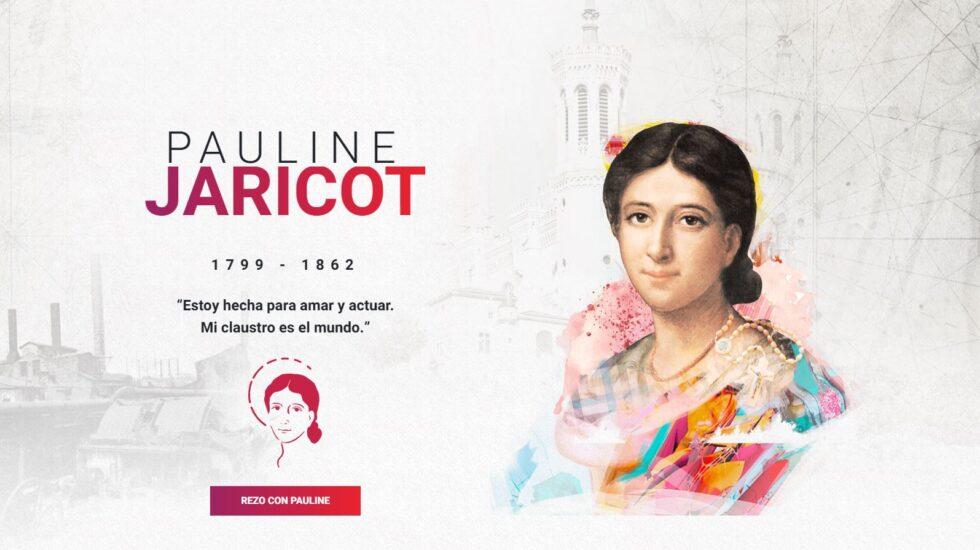 En español la página web dedicada a Pauline Jaricot