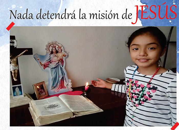 NADA DETENDRÁ LA MISIÓN DE JESÚS