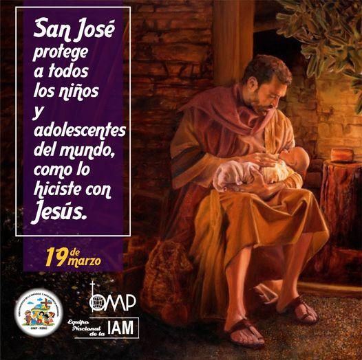 La Iglesia se alegra hoy con la celebración de la Solemnidad de San José