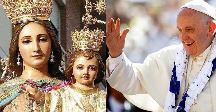 El Papa saluda a salesianos por Fiesta de María Auxiliadora