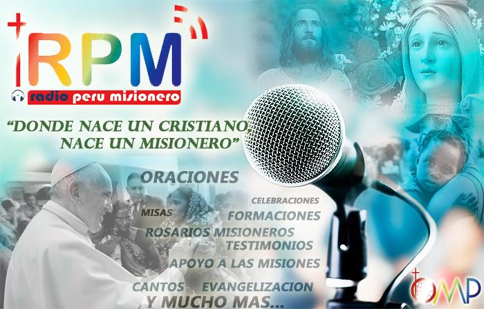 OBRAS MISIONALES PONTIFICIAS, ANUNCIA  SU RADIO MISIONERA ONLINE…