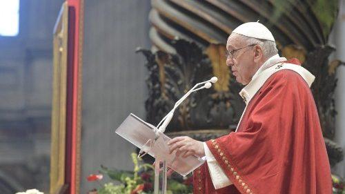 Papa: «Como Pedro y Pablo, experimentemos nuestra liberación con Cristo»