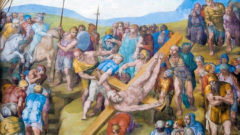 Santos Pedro y Pablo, conversión y martirio. El último Miguel Ángel