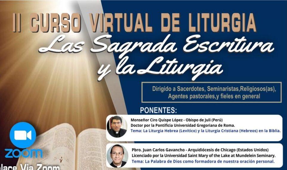 II Curso Virtual de Liturgia 2021 iniciará el 31 de agosto