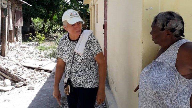 """Terremoto Haití. Misioneras relatan situación de """"mucha miseria y necesidad"""""""