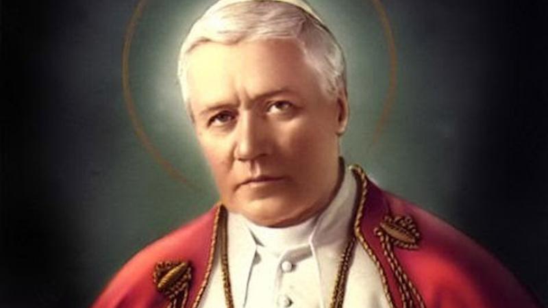 Los católicos celebramos a San Pío X, el Papa de la Eucaristía