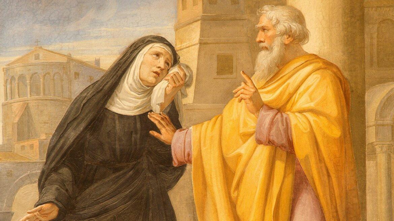 La verdadera historia de Santa Mónica,madre de San Agustín