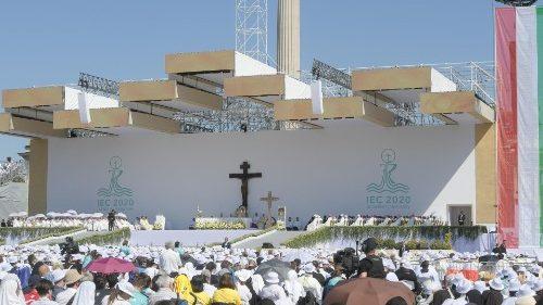 El Papa en Congreso Eucarístico: Jesús nos pregunta, ¿Quién soy para ti?