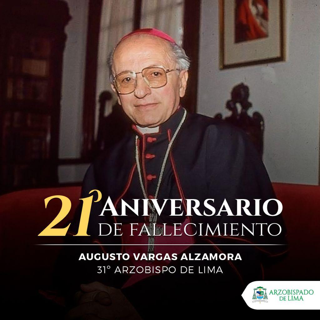 A 21 años de la partida del Cardenal Vargas Alzamora