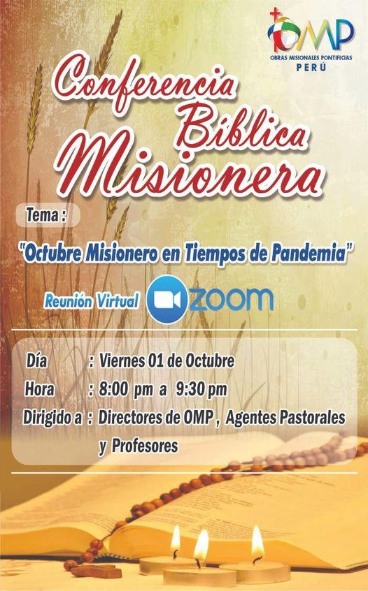 Invitamos a todos a participar de esta Conferencia Bíblica Misionera